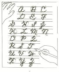 how to write i in cursive cursive writing in schools