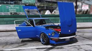 nissan midnight blue nissan s30z wangan midnight devil z add on replace gta5 mods com