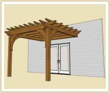 Attached Pergola Plans by Build A Pergola In Your Backyard With One Of These 15 Free Plans