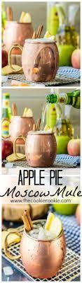 apple pie moscow mule plus mocktail version the cookie rookie