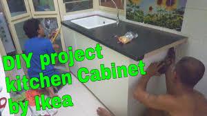 diy kitchen cabinets malaysia diy kitchen cabinet ikea cabinet 07feb2016 thezunafamily vlogs