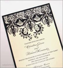 and black wedding invitations ivory and black wedding invitations inspirational damask wedding