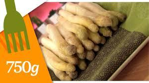 cuisiner asperges fraiches botter et cuire des asperges blanches 750 grammes