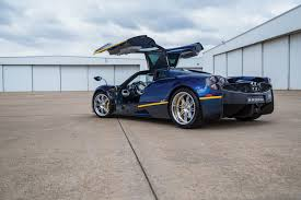 blue pagani rare blue pagani huayra has over 260 000 worth of extras