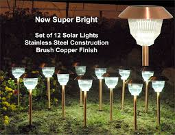 Solar Landscaping Lights Outdoor by Solar Outdoor Lights For Garden Landscape Lighting Inertiahome Com