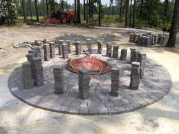 Rock Firepit To Build A Propane Pit