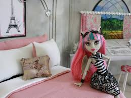 Monster High Doll House Furniture Doll Room Tour Rochelle Goyle Youtube