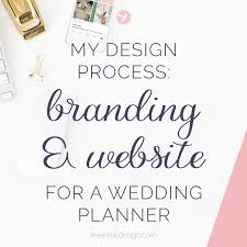 wedding planner website my design process branding website for a wedding and event