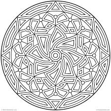 printable coloring pages for adults geometric geometric coloring pages the sun flower free printable for adults