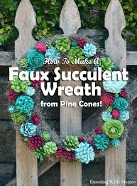 faux succulent wreath faux succulents succulent wreath and