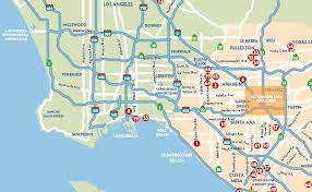 anaheim california map