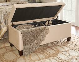 Ottoman With Storage Furniture Luxurious And Useful Storage Ottoman For Any Room