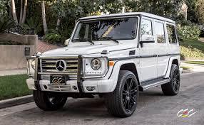 matte white jeep mercedes benz g550