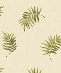 traditional wallpaper fabric floral evolution summer ferns