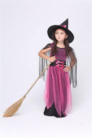 pink witch costume girls 2017 2016 new kids witch costume kids girls masquerade dress