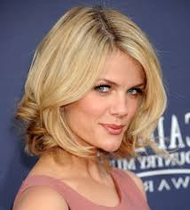 medium length concave hairstyles medium layered bob haircuts with bangs images