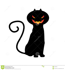 halloween cat vector stock photo image 58568505