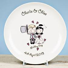 wedding plate personalised wedding gifts presents i just it