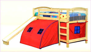 Bunk Bed With Slide And Tent Slide Bunk Bed Brunofelixarts
