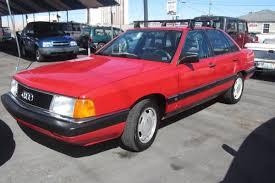 audi 5000 for sale type 44 1987 audi 5000 turbo quattro but trusty