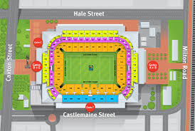 Stadium Floor Plans Suncorp Stadium Maps