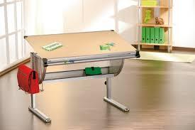 bureau dessinateur bureau enfant table dessinateur en érable ibo réglable en hauteur