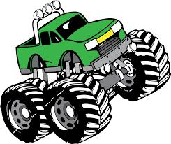 shutterstock stock bigfoot monster truck monster truck vector clipart 30