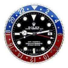 Wall Watch by Rolex Gmt Master Ii Wall Clock Rx102 U2013 Dealer Clocks
