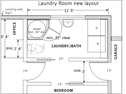 Bathroom Layout Design Laundry Room Layout Dimensions Miscellaneous Bathroom Laundry Room