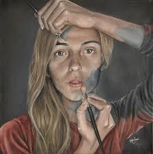 self portrait oil painting by marlouj self portrait oil painting by marlouj