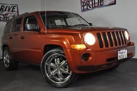 2008 jeep patriot rims 2008 jeep patriot sport 20 custom chrome wheels cruise keyless