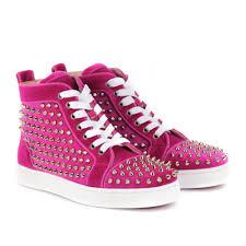 pink louboutin sneakers elsoc
