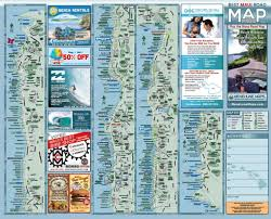 Kahului Airport Map Maui Road Map Menehune Maps