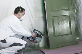 Paint A Front Door How To Paint A Door Using An Airless Sprayer Painting A Front