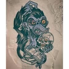 tattoo sketch by kyle walker guru tattoo san diego ca