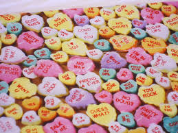 valentines day candy hearts heart candy sayings facts about s day
