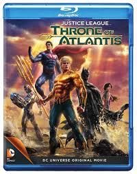 justice league amazon com justice league throne of atlantis blu ray various