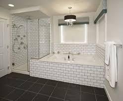 bathrooms with subway tile ideas bathroom subway tile bathroom black grout bathrooms beveled modern