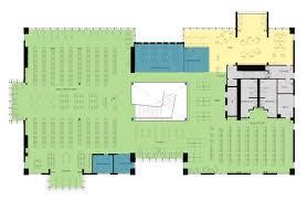 public floor plans gallery of los gatos public library noll u0026 tam architects 28