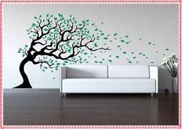tree wall decals for nursery home decorations ideas