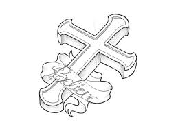 100 cross with wings tattoo on chest 25 cross back tattoos of