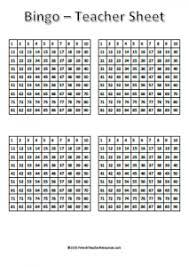 bingo cards numbers 1 90 french teacher resources