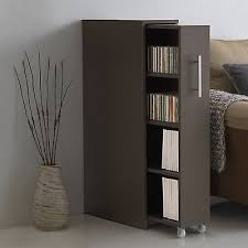 Sliding Door Bookcase Sliding Door Bookcase Secret Library Cabinet Storage Wood Office