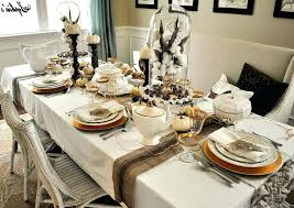 Formal Dining Room Table Setting Ideas Decoration Modern Table Setting