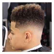 Mens Hairstyle By Face Shape by Hairstyles For Face Shape Men With Skin Fade With Natural Curls