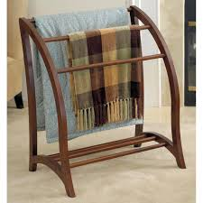 Wood Audio Rack Amazon Com Winsome Wood Blanket Rack Antique Walnut Kitchen