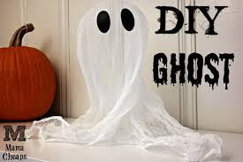 diy cheesecloth ghost halloween craft mama cheaps