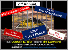 Fullerton College Campus Map Banned Books Essay Contest Fullerton College Library
