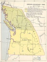 map of oregon country 1846 part 1 how did sheep get to the west west by midwest