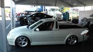 volkswagen rabbit truck custom vw jetta pickup truck by smyth local motors sema 2014 youtube